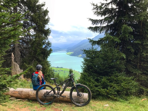 ae6be6d2d8b The wonder of Nauders and the Reschensee.   Kell, Bell, and Bikes